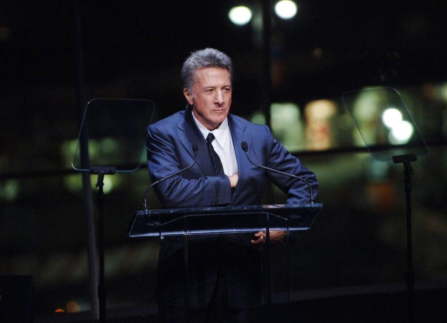 Dustin Hoffman at the Music Has Power Awards Benefit.