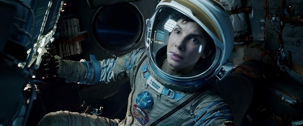 Sandra Bullock as Ryan Stone in