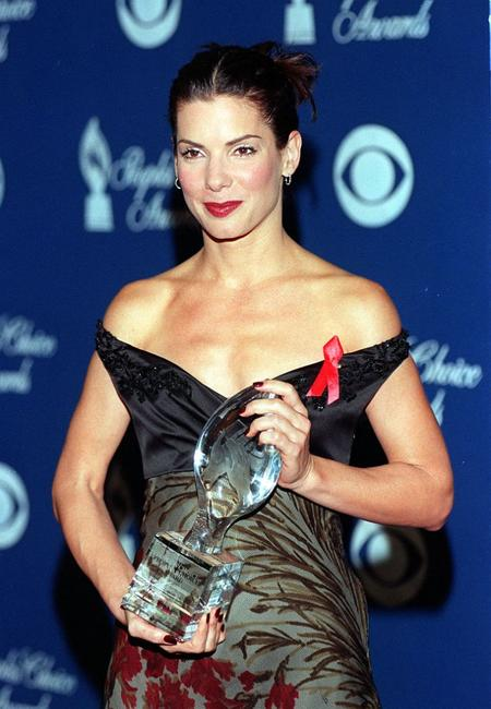 Sandra Bullock at the People's Choice Award.