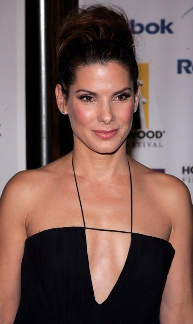 Sandra Bullock at the 9th Annual Hollywood Film Awards.