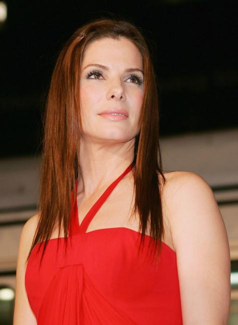 Sandra Bullock at the Los Angeles premiere of