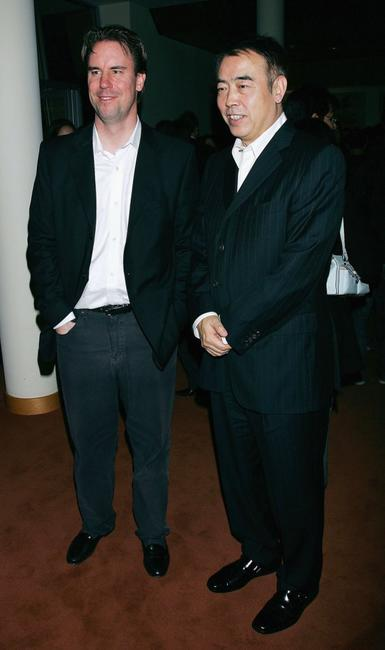 Chen Kaige and Mark Gill at the after party following the Los Angeles premiere of