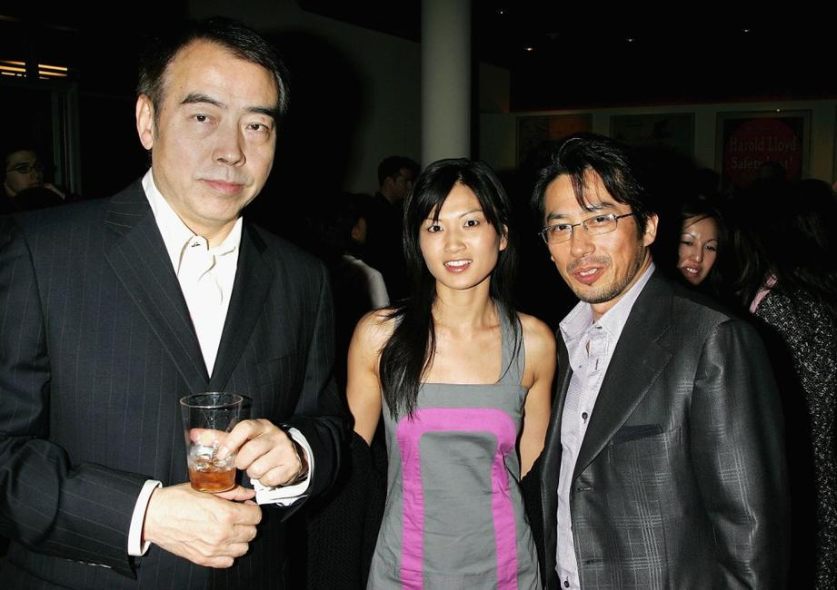 Chen Kaige, Michelle Krusiec and Hiroyuki Sanada at the after party following the Los Angeles premiere of
