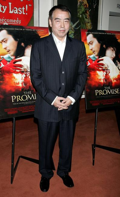 Chen Kaige at the Los Angeles premiere of