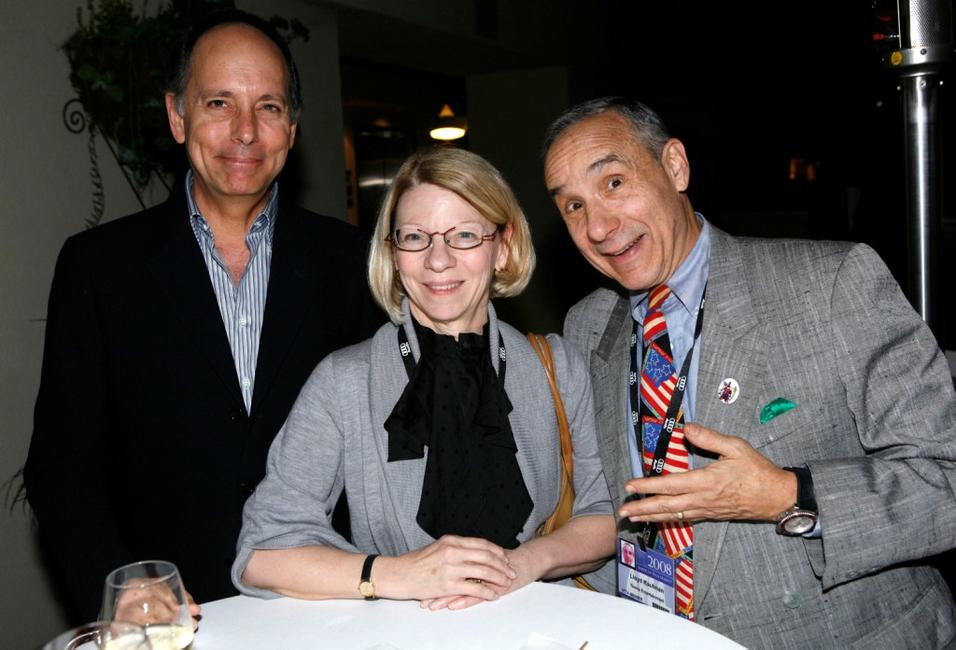 Jonathan Wolf, Jean Prewitt and Lloyd Kaufman at the 2008 AFM Independent Film & Television Alliance Member Cocktail Reception.