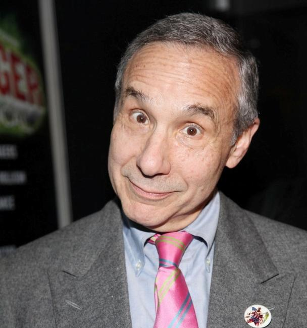 Lloyd Kaufman at the opening night of