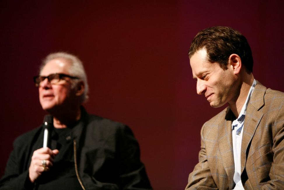 Barry Levinson and Jeremy Schaap at the 2007 Tribeca Film Festival for screening and Q&A for