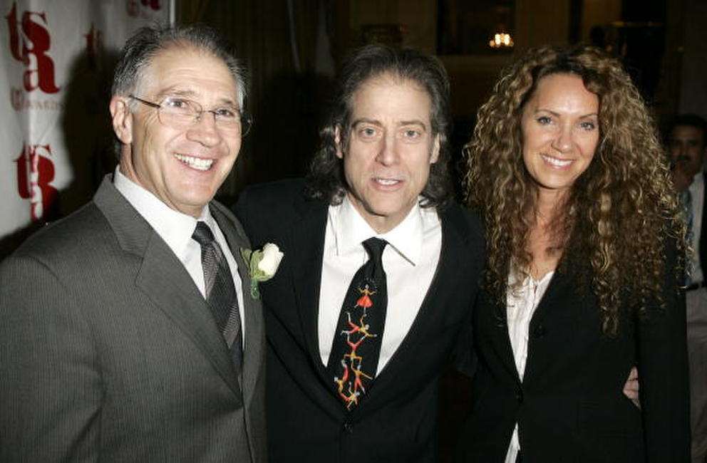 Paul Devore, Richard Lewis and Joyce at the Tourette Syndrome Association Champion Of Children Awards.
