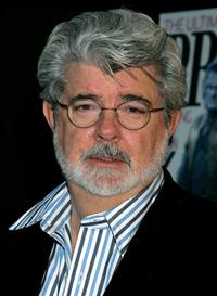 George Lucas at the 101 Greatest Screenplays gala reception.