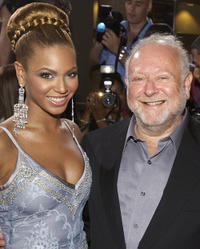 Beyonce and Jonathan Lynn at the California premiere of