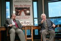 Norman Mailer and Lawrence Schiller at a bookstore appearance to discuss the new book
