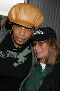 Penny Marshall and Macy Gray at Peterson Automotive Museum for the 2006 Diamond Lounge By Nathalie Dubois in the Penthouse.