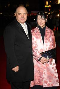 Anthony Minghella and Carolyn Choa at the BFI 51st London Film Festival for premiere of