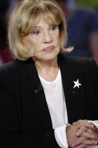 Jeanne Moreau at the Grand journal.