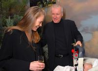 James Cameron, wife actress Suzy Amis and their daughter Elizabeth Rose at the Sixth Annual Celebration of New Zealand Filmmaking and Creative Talent Pre-Oscar Dinner.
