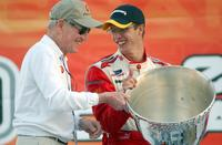 Paul Newman and Newman-Haas at the Mexico City Grand Prix.