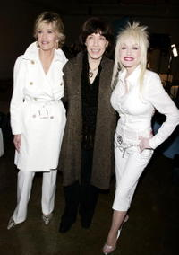 Jane Fonda, Lily Tomlin and Dolly Parton at the