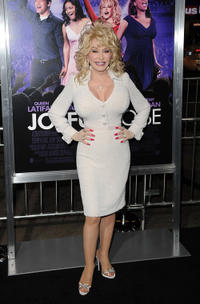 Dolly Parton at the world premiere of