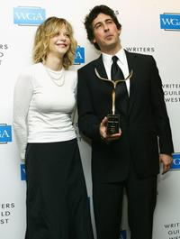 Alexander Payne and Meg Ryan at the 57th Annual Writers Guild Awards.