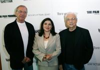 Sydney Pollack, Nellie Seddigh and Frank Gehry at the Los Angeles premiere of