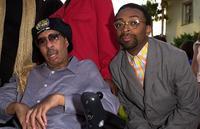 Richard Pryor and Spike Lee at the premiere screening of