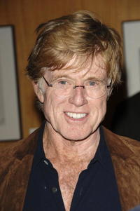 """Robert Redford at the Academy Presents the 30th Anniversary Screening of """"All the President's Men"""" in Beverly Hills."""