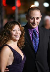 Paul Reubens and Guest at the premiere of