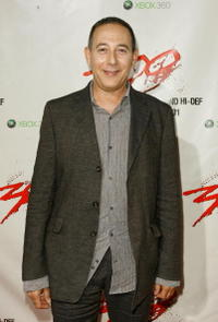 Paul Reubens at the DVD release party for the