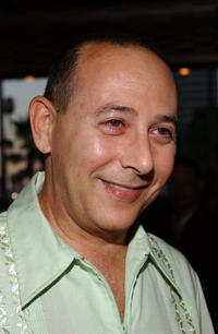 Paul Reubens at the opening night of