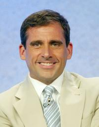 Steve Carell at the panel discussion for