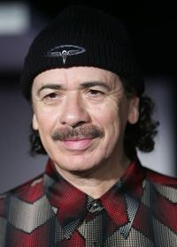 Carlos Santana at the launch of his new shoe collection