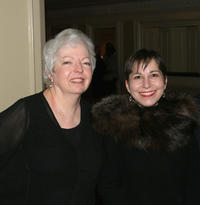 Thelma Schoonmaker and Amy Heller at the New York Film Critics Dinner in New York.