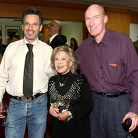 Robert Carradine, June Foray and Ed Lauter at the AMPAS' centenial salute celebration of Joseph L. Mankiewicz.