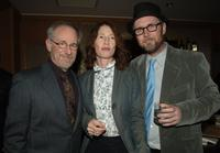 Steven Spielberg, Valerie Faris and Jonathan Dayton at the 32nd Annual LA Film Critic's Association Awards.