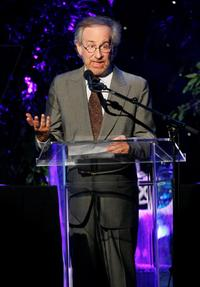 Steven Spielberg at the Women In Film 2007 Crystal and Lucy Awards.