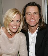 Jim Carrey and Jenny McCarthy at the launch party for Chip and Pepper's C7P denim line.