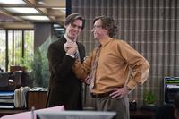 Jim Carrey as Carl and Rhys Darby as Norm in