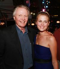 Jon Voight and Rachael Taylor at the afterparty for premiere of Paramount Pictures