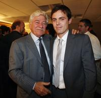 Seymour Cassel and Casey Affleck at the 11th Annual Hollywood Awards.