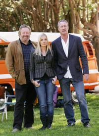 John Wood, Joanne Froggatt and Bryan Brown at the Sydney photocall of