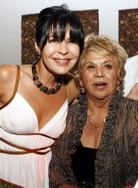 Maria Conchita Alonso and Lupe Ontiveros at the afterparty for the premiere of