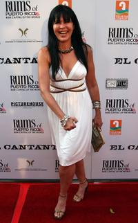 Maria Conchita Alonso at the afterparty for the premiere of