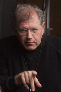 Director Robert Zemeckis on the set of