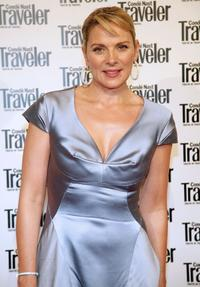 Kim Cattrall at the Conde Nast Traveler Readers' Choice Awards.