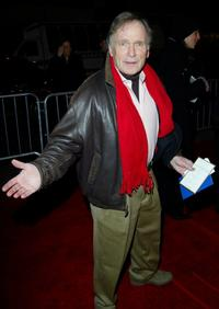 Dick Cavett and Tim Conway at the New York premiere of