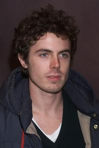 Casey Affleck at the New York premiere of