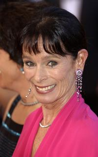 Geraldine Chaplin at the closing ceremony of the 56th International Cannes Film Festival.