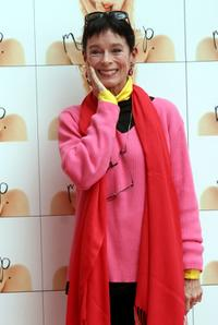 Geraldine Chaplin at the Italian premiere for