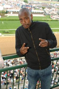 Dave Chappelle at the 132nd Kentucky Derby from the Jockey Club Suites at Churchill Downs.