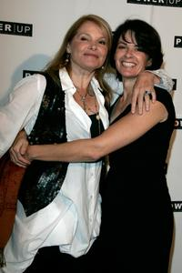 Helen Shaver and Patricia Charbonneau at the Power Premiere Awards.
